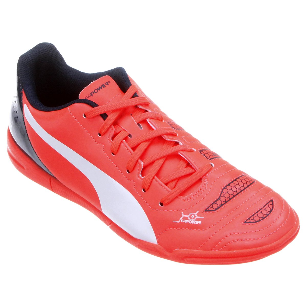 35%OFF Chuteira Puma Evopower 4.2 IT Futsal Juvenil e8e326f26d09e