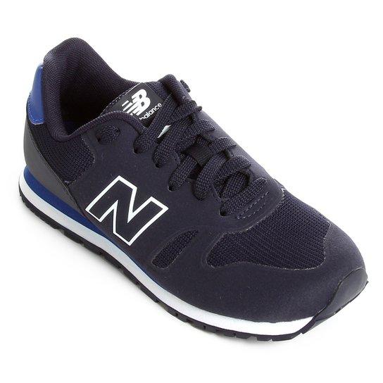 673116f294 Tênis Infantil New Balance 373 - Marinho e Azul - Compre Agora ...