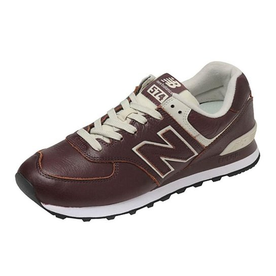 914a339ad88f5 Tênis New Balance Couro Masculino - Bordô | Netshoes