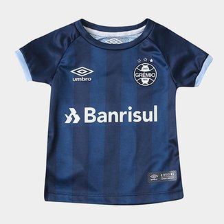 d0401035dd Camisa Grêmio Infantil III 17 18 n° 10 - Torcedor Umbro
