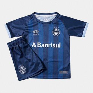 c012c15ea7 Kit Infantil Grêmio III 17 18 s n° - Torcedor Umbro