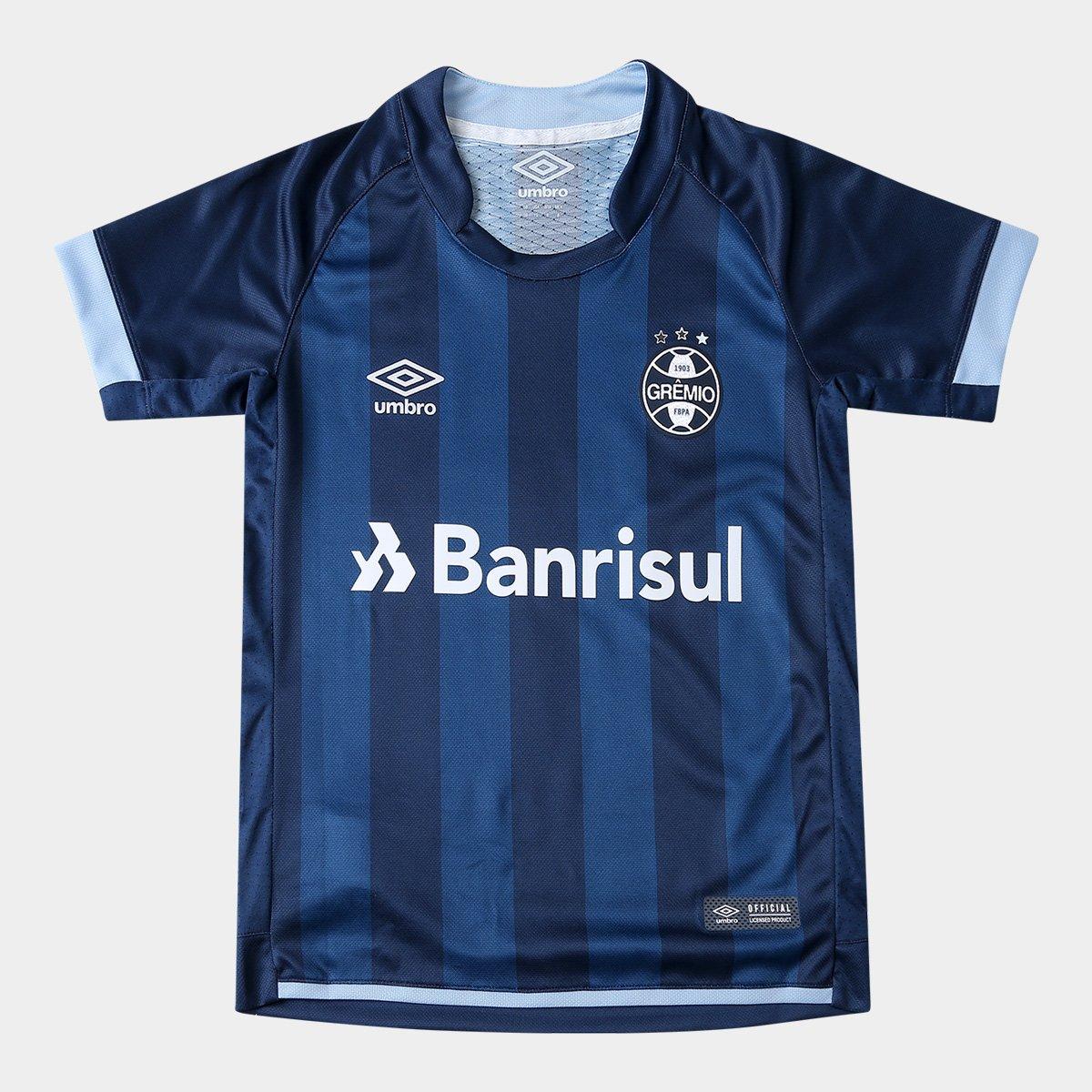 75e7b829b8 Camisa Grêmio Juvenil III 17 18 n° 10 - Torcedor Umbro