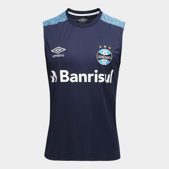 09af6d2d87 Camisa Regata Umbro Grêmio Treino 18 Masculina - Compre Agora