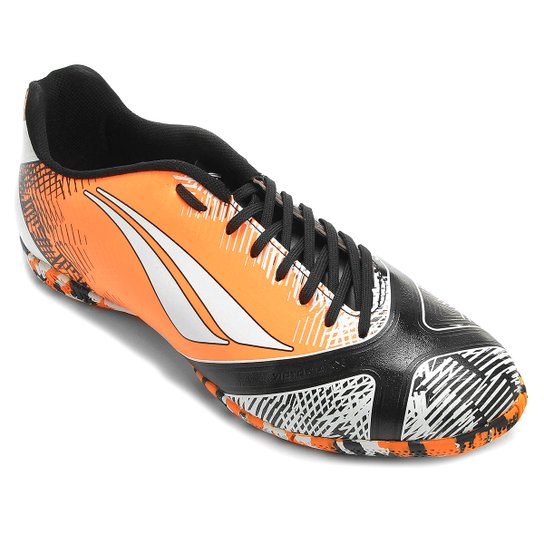 7826aa5500e5a Chuteira Penalty Victoria RX 6 Futsal - Laranja+Branco
