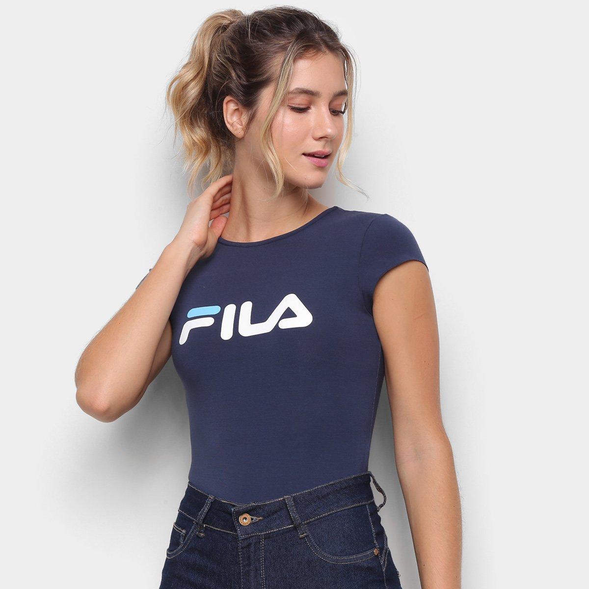 Body Fila Easy Letter Feminino