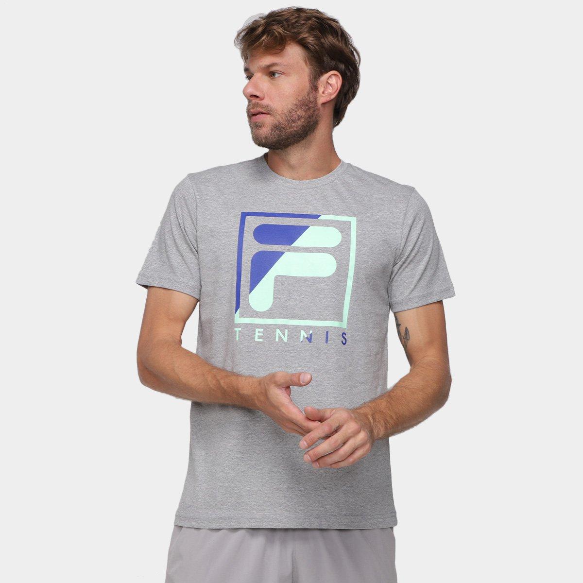 Camiseta Fila Soft Urban Acqua Masculina