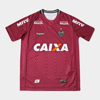 Camisa de Goleiro Atlético-MG II 2018 Infantil s n° Torcedor Topper ec1943c5b618c