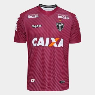 Camisa de Goleiro Atlético-MG II 2018 s n° Torcedor Topper Masculina 680f23762098c