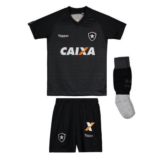 Kit Topper Infantil Botafogo II 2017 - Mescla - Compre Agora  2295e2cde89