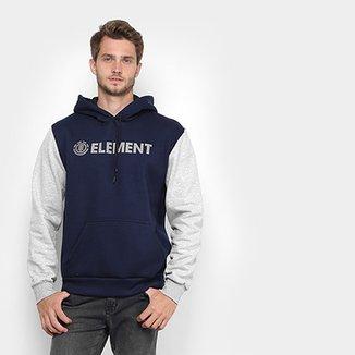Compre Blusa Moletom Masculino Element Online  e38420ccfca