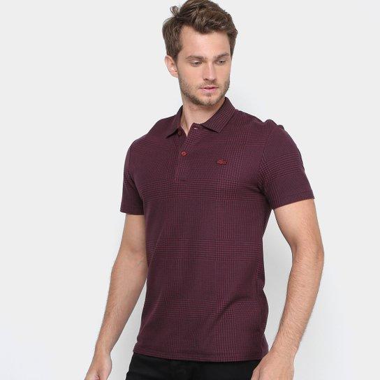Camisa Polo Lacoste Piquet Slim Fit Xadrez Masculina - Compre Agora ... e0a74901ba