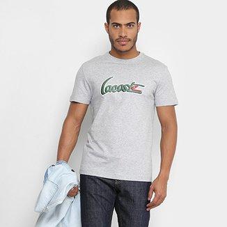 Camisetas Lacoste com os melhores preços   Netshoes 79f97a5c03