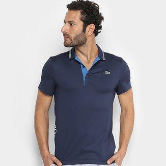 3baac116ec Camisa Polo Lacoste Golf Sport Strech Masculina