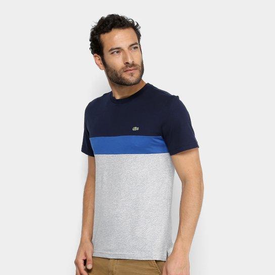 112cd6d8af9 Camiseta Lacoste Color Block Masculina - Compre Agora