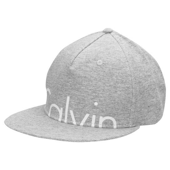8c125e652335c Boné Calvin Klein Aba Reta - Compre Agora