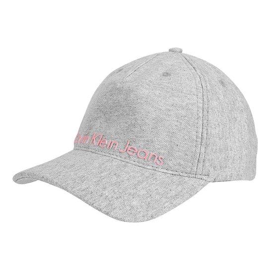 Boné Calvin Klein Aba Curva Moletom Logo Masculina - Compre Agora ... 3a1f45b028a