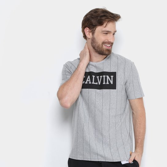 Camiseta Calvin Klein Vintage Masculina - Compre Agora   Netshoes f85c0ffc49