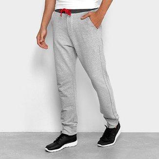 d916132dd06b8 Calça De Moletom Jogger Calvin Klein Contraste Masculina
