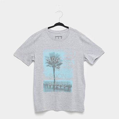 Camiseta Infantil Calvin Klein Paradise Masculina
