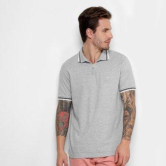 Camisa Polo Cavalera com Zíper Masculina 7cbb33d5b5c02