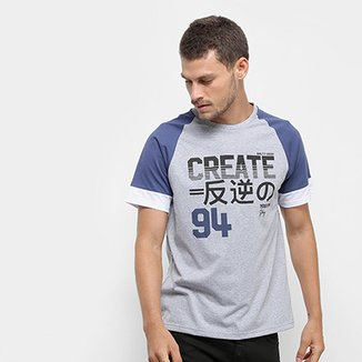 4b0344598f82c Camiseta Burn Club Create Masculina
