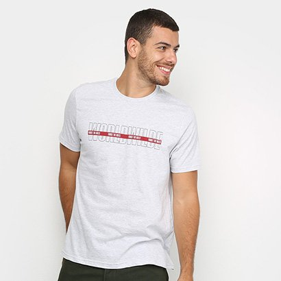 Camiseta Burn Worldwide Masculina