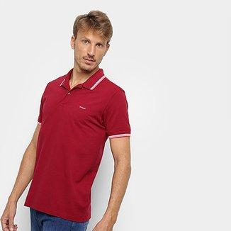 7217e389f Camisa Polo Colcci Detalhe Neon Masculina