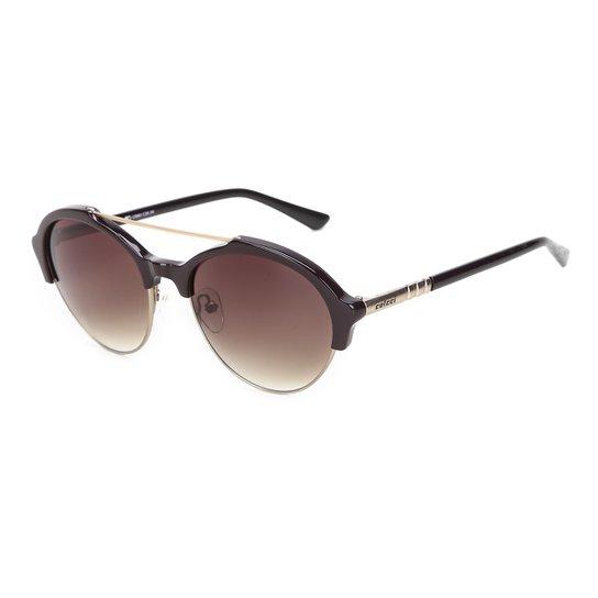bf3eb9380 Óculos de Sol Colcci C0061 Feminino - Bordô   Netshoes