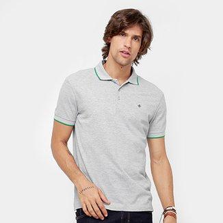0968cea95210c Camisa Polo Forum Piquet Básica Frisos Masculina
