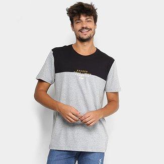 Camiseta Forum Bicolor Mescla Masculina a8b032a636a67