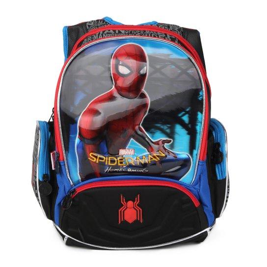 a3b0e8ddd Mochila Infantil Sestini Spiderman Masculina - Colorido