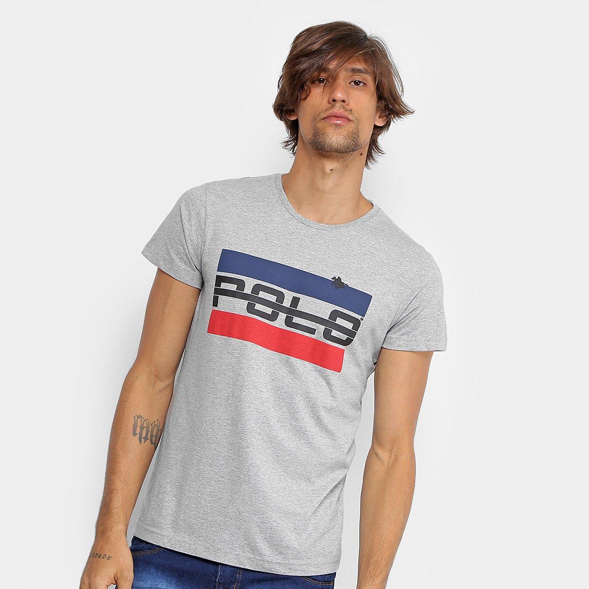 a808325d4 Camiseta RG 518 Logo Vintage Masculina