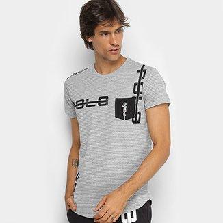 Camiseta Manga Curta Polo RG 518 Listrada Masculina eb58cb557e67f