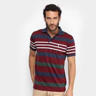 54d2a50e81 Camisa Polo Aleatory Listrada Masculina
