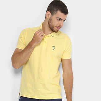 Camisa Polo Aleatory Piquet Color Logo Masculina 739c2b35b40d5