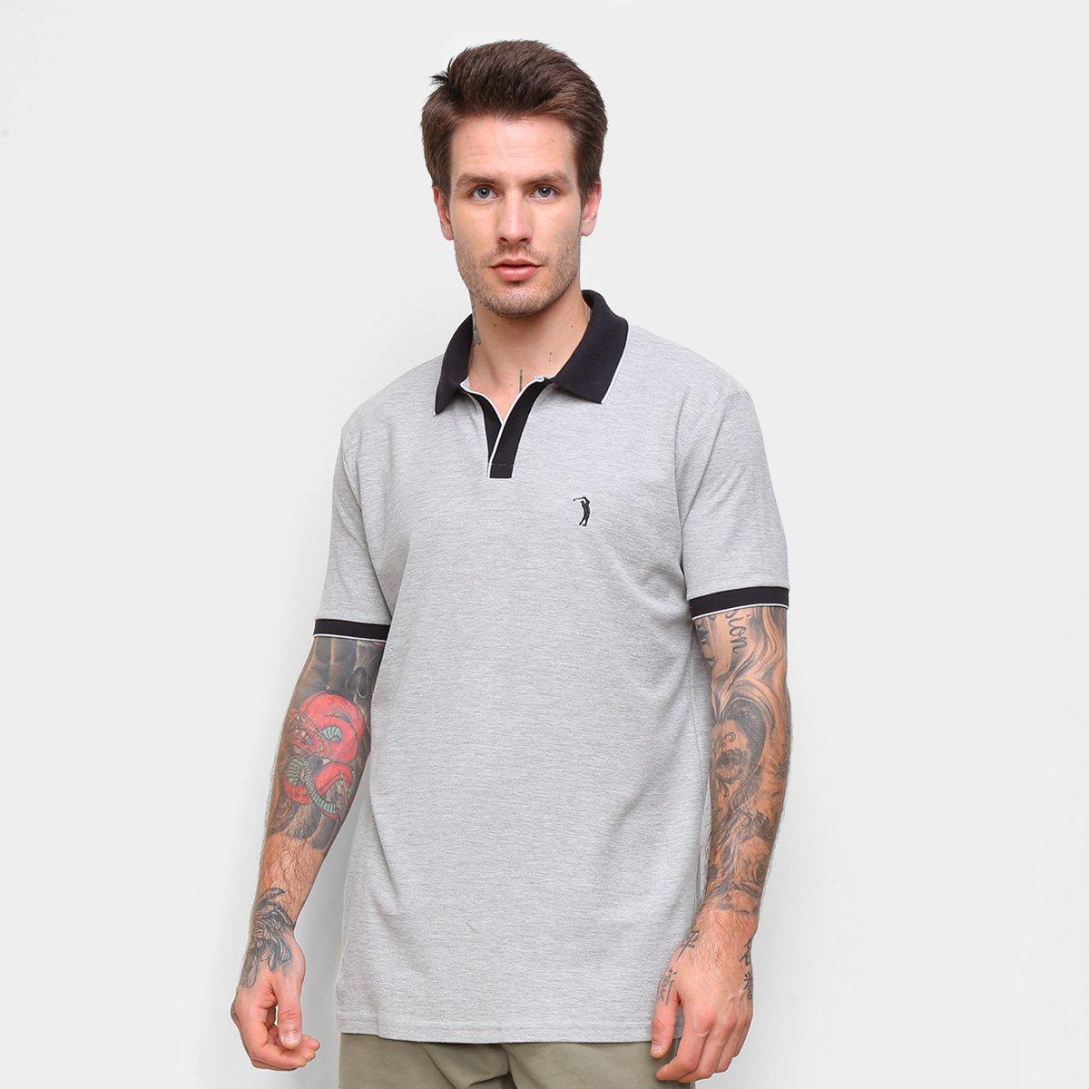 Camisa Polo Aleatory Mini Logo Masculina