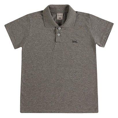 Camisa Polo Infantil Kamylus Masculina
