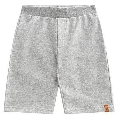 Shorts Infantil Brandili Moletinho Básico Masculino