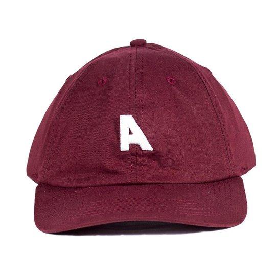 Boné Alfa Dad Hats Pro Model Silas Ribeiro - Bordô - Compre Agora ... dc7ae72379b