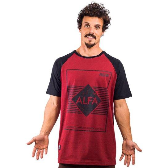 0ce4d38081e9d Camiseta Alfa Raglan Cube - Compre Agora