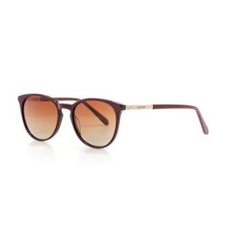 3aca806a3 Óculos de Sol Cannes Redonda Polarizado Proteção UV Feminino