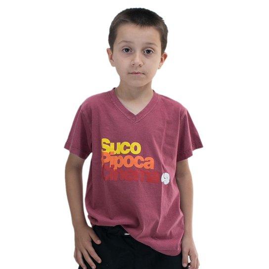 9e473de2b Camiseta Infantil Comfy Pipoca Masculino - Compre Agora