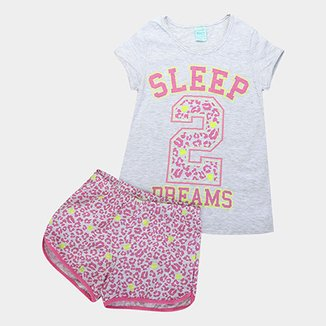 f763aee82108cf Pijamas Infantis em Oferta   Netshoes