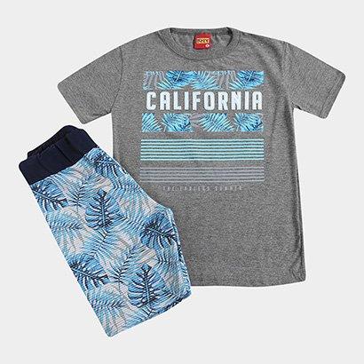 Conjunto Infantil Kyly California Masculino