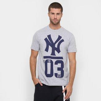 Camiseta New Era Team 3 New York Yankees 1dbced0fecb1a