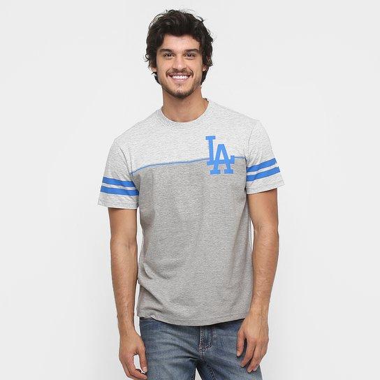 e2417e3db Camiseta New Era MLB Nac Stripes Team 1 Los Angeles Dodgers - Compre ...