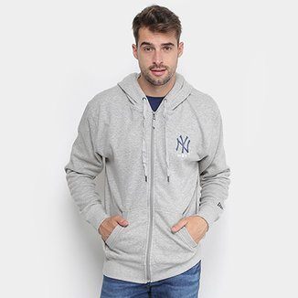 7d5f79a5a6794 Moletom MLB New York Yankees New Era Core 10 Masculino