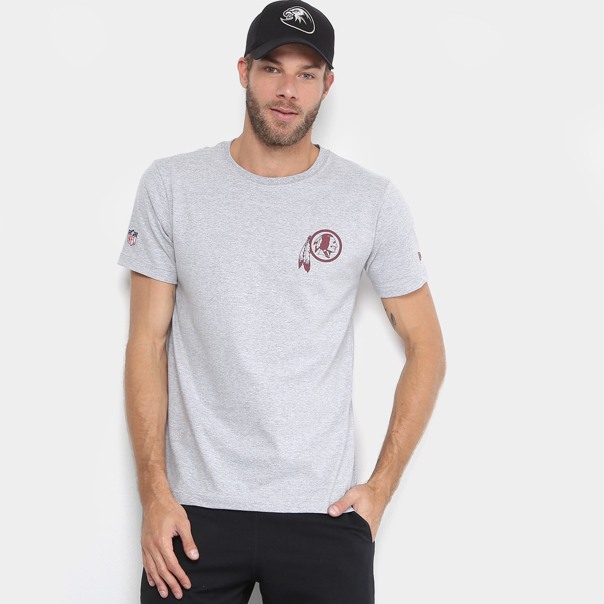 Camiseta NFL Washington Football Team New Era Basic Masculina