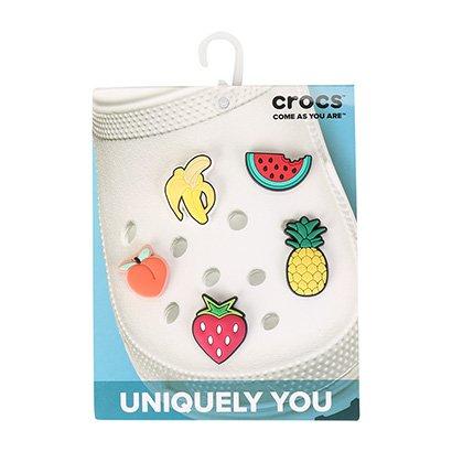 Jibbitz Infantil Crocs Fruit 5 Peças