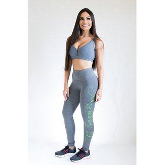 a5f49c0af6d1b Calça Legging Fit Training Brasil Forever Feminina